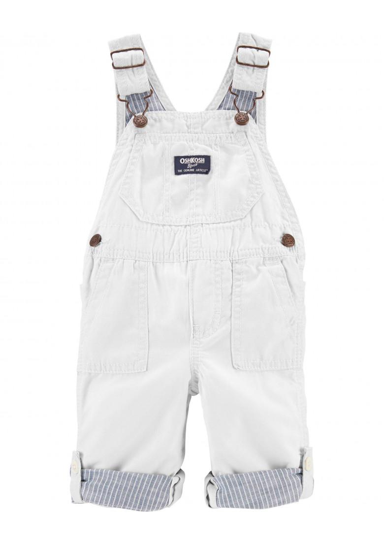 Jardineira Bege Oshkosh For Baby Boutique