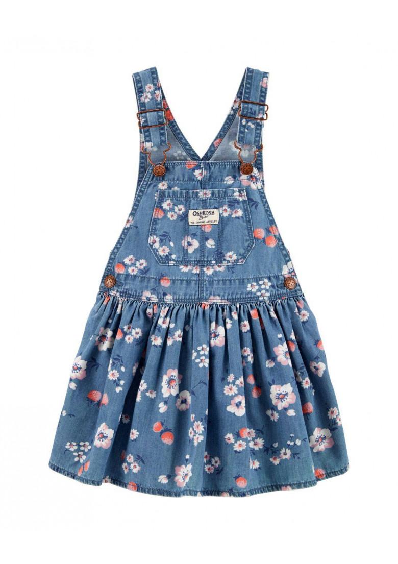 Jardineira Floral Oshkosh For Baby Boutique